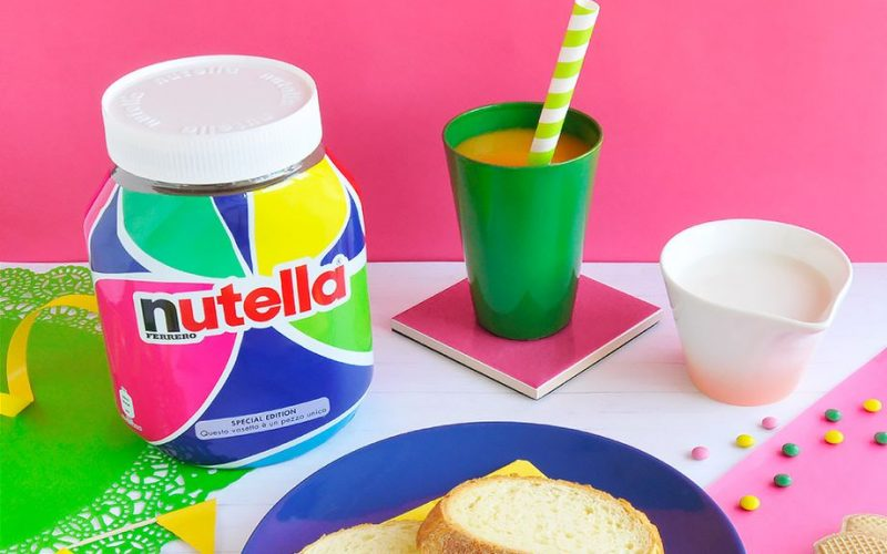 Nutella employed an algorithm to design its packaging