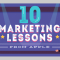 10 Things Your Small Business Can Learn About Marketing from Apple (INFOGRAPHIC)