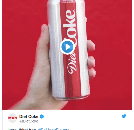 Diet Coke hopes a sleek rebrand and some new flavours can reignite sluggish sales