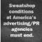Will marketing agencies always be nothing but sweatshops?