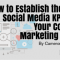 How to Establish the Best Social Media KPIs for Your Content Marketing Goals