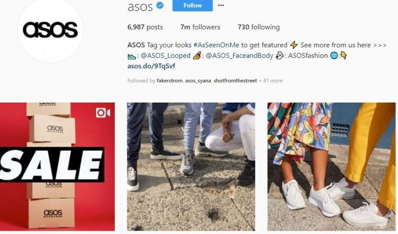 Asos lauds effect of Instagram Stories as it reduces marketing spend
