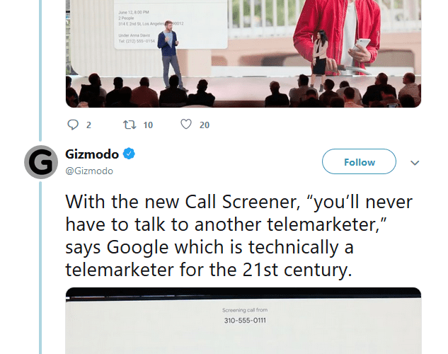 Google Just Revealed a Brilliantly Simple Trick to Totally Destroy Telemarketers. (Wait, Why Aren't We Doing This Already?)
