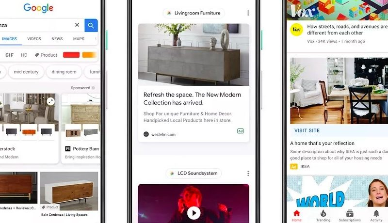 Google rolls out new visual ad formats for mobile